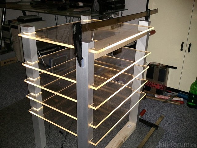 Rack Aufbau-Phase 2-1