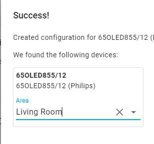 Home Assistant Integration Philips TV