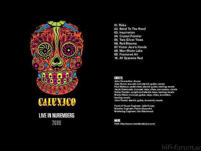 Calexico - Live In Nürnberg