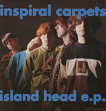 Inspiral Carpets - Island Head E.P.