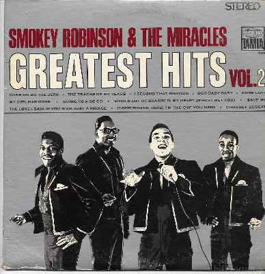 Smokey Robinson & The Miracles Greatest Hits Vol. 2