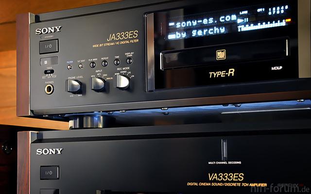 MDS-JA333ES & STR-VA333ES