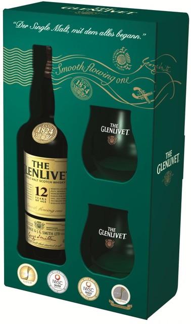 The Glenlivet 12 Geschenkset 2 Gl Ser