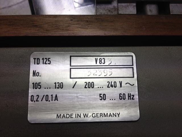 TD 125 m SME