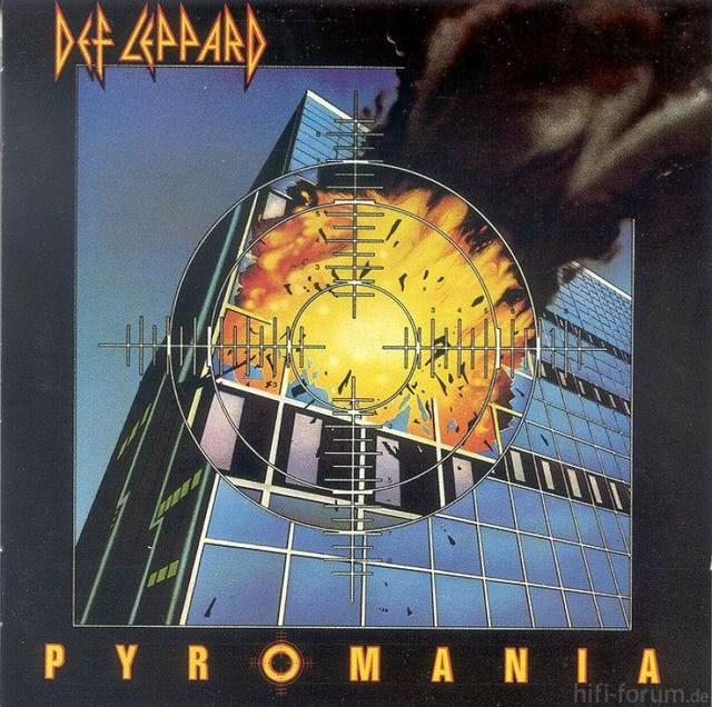 Def Leppard   Pyromania   Front