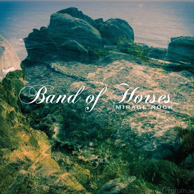 Band Of Horses Mirage Rock Album Cover