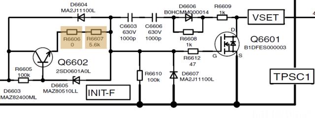 INIT- Vset Schaltplan TH42PV60