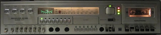 Grundig RC 60 Front Silber