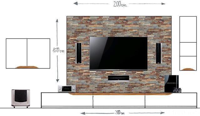 vorbauwand f r tv center frontspeaker material tipps racks geh use hifi forum. Black Bedroom Furniture Sets. Home Design Ideas