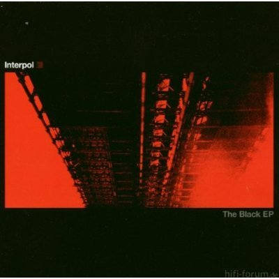 Interpol The Black Ep