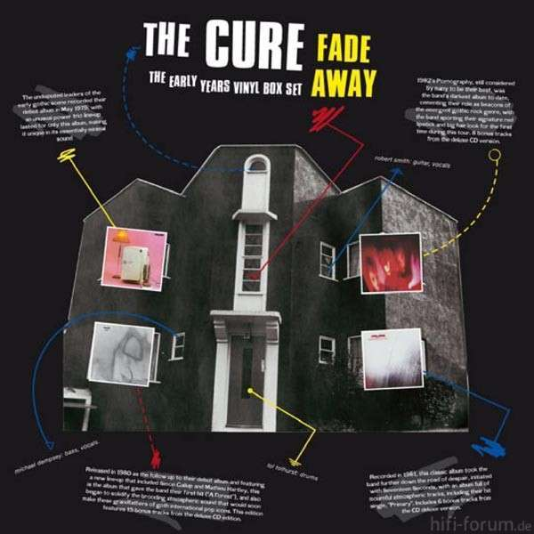The Cure Fade Away