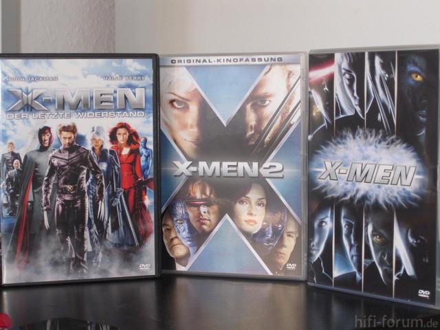 X-Men 1, 2 Und 3