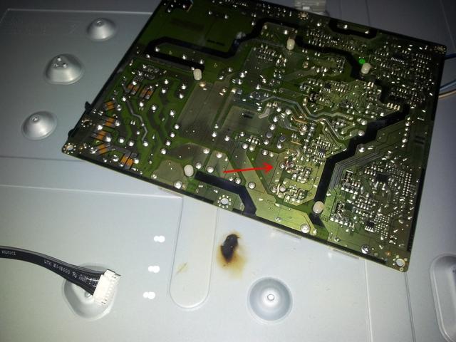Samsung LE46C. Kurzschluss / Totalschaden ?, Fernseher & Projektoren ...
