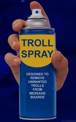 Anti Troll Spray