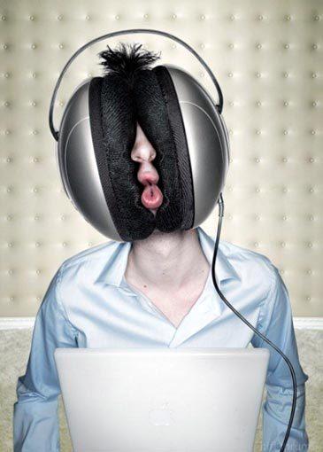 Huge Headphones