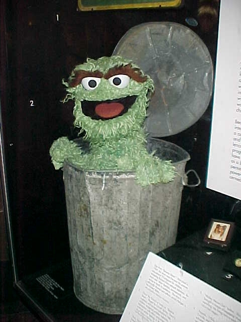 Oscar The Grouch At Smithsonian