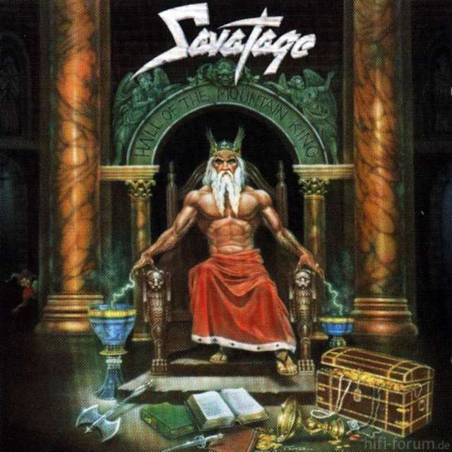 Savatage   Hall Of The Mountain King (Front)