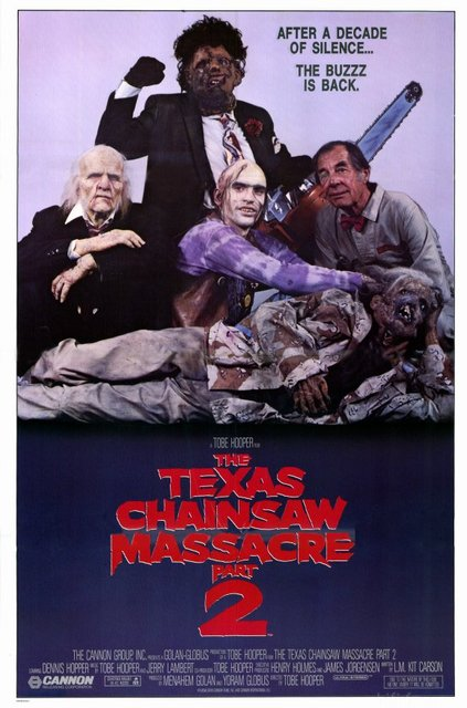 1986 The Texas Chainsaw Massacre 2 Poster1