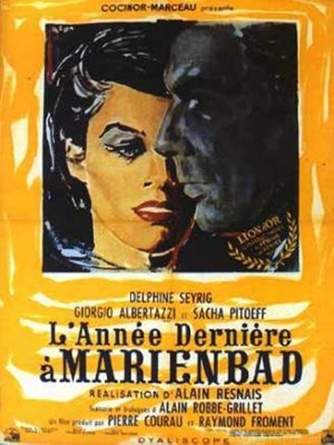 Affiches Annee Derniere A Marienbad