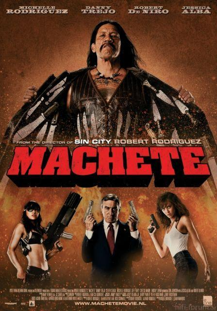 Machete Movie Poster 2