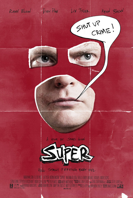 Super Poster James Gunn Rainn Wilson