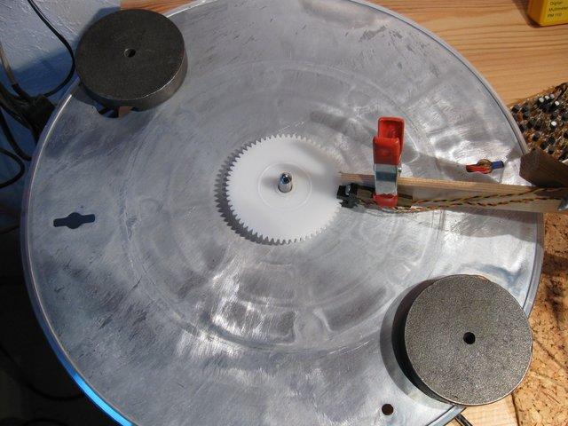Mehr Schwung fürn Plattenteller