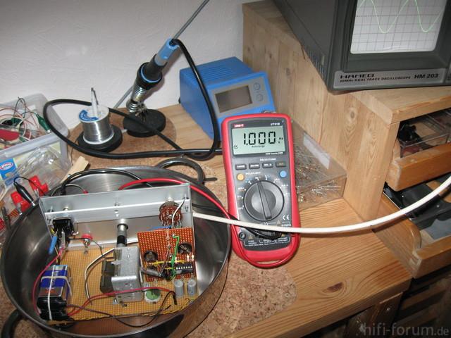 Sinus-Generator Test Im Kochtopf