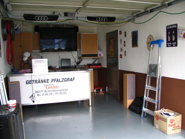 Aufbau Vor WM-Geburtstag 2010