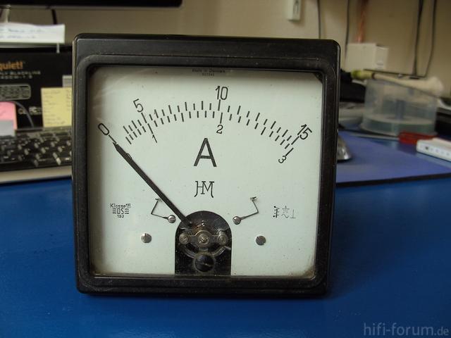 Amperemeter 1