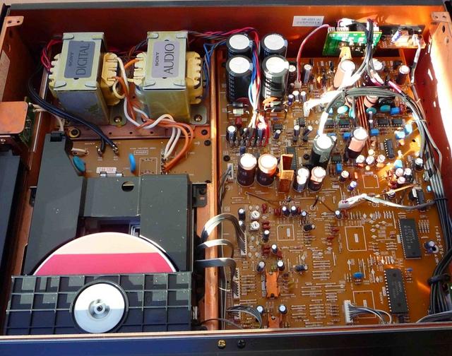 Sony CDP-X55ES Stromversorgung