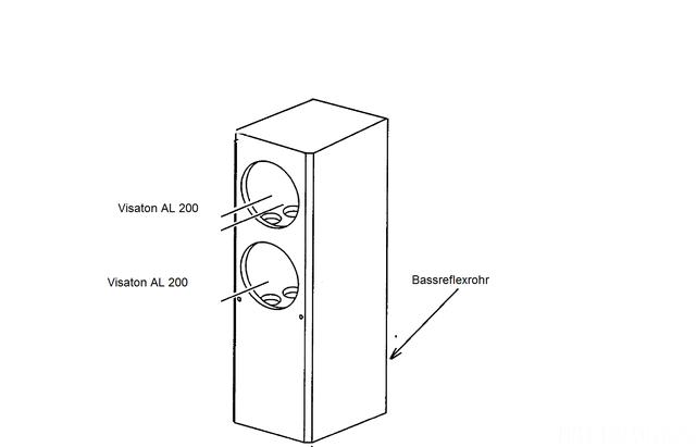 geh use berechnung f r visaton al 200 tieft ner. Black Bedroom Furniture Sets. Home Design Ideas