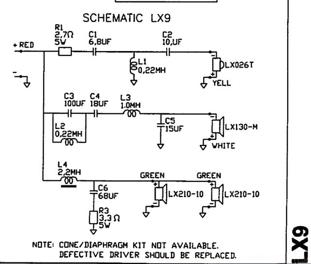 JBL LX 9
