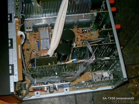 Technics SA-TX50 Innenansicht