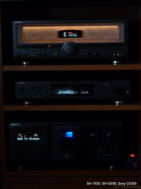 Technics Und Sony
