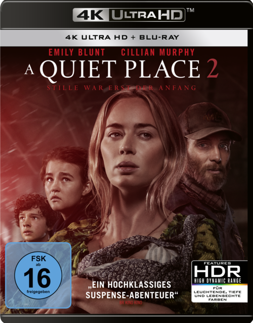 A Quiet Place 2 Blu Ray Review Cover