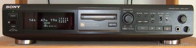 Sony MDS JE510