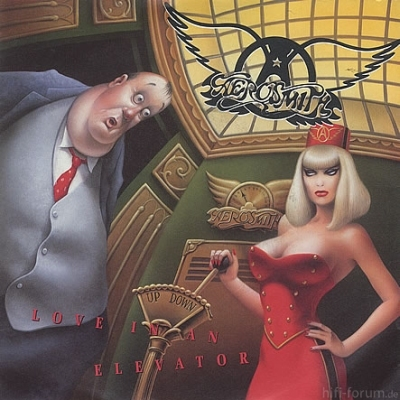Aerosmith - Love In An Elevator Maxi 1989