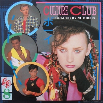 Culture Club - Colour By Number 1983