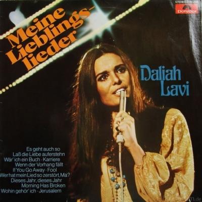 Daliah Lavi - Meine Lieblingslieder 1975