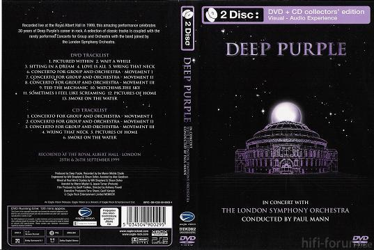 Deep Purple - In Concert With London Symphony Orchestra 1999