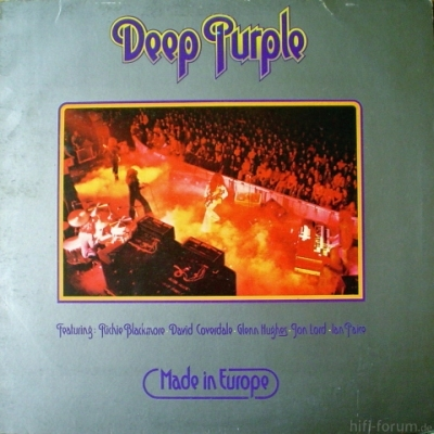 Deep Purple - Made In Europe 1976