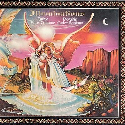 Devadip Carlos Santana & Turiya Alice Coltrane - Illuminations 1974