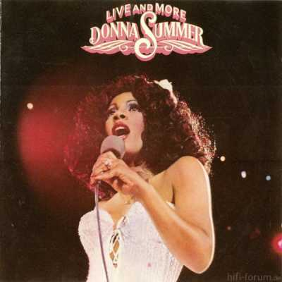 Donna Summer - Live And More 1978