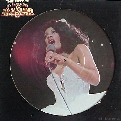 Donna Summer The Best Of Live And More 1978 Back