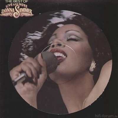 Donna Summer The Best of Live and More 1978