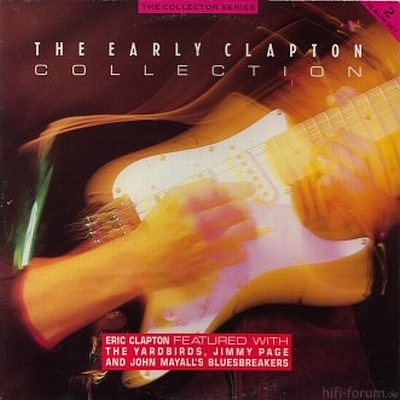 Eric Clapton - The early Clapton Collection 1987