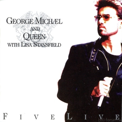 George Michael And Queen With Lisa Stansfield - Five Live 1993