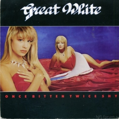 Great White - Once Bitten Twice Shy 12Z 1989