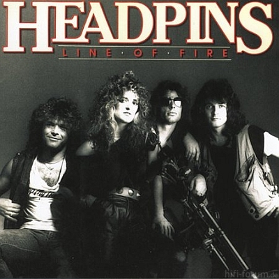 Headpins - Line of Fire 1983