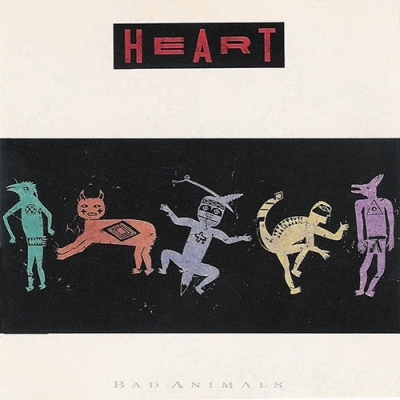 Heart - Bad Animals 1987